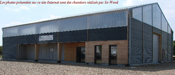 Le siège social de So Wood Construction Bois
