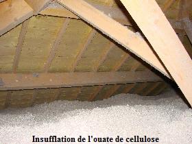 Isoler les combles - Conductivite thermique ouate de cellulose ...